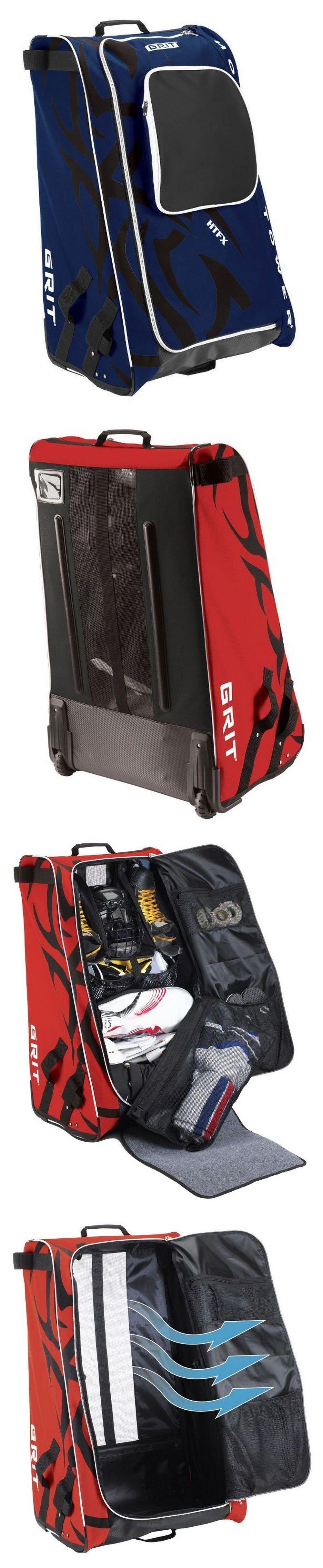 3de93eada23 Equipment Bags 58113  Grit Htfx Hockey Tower 36 Inch Wheeled Equipment Bag  Navy New -