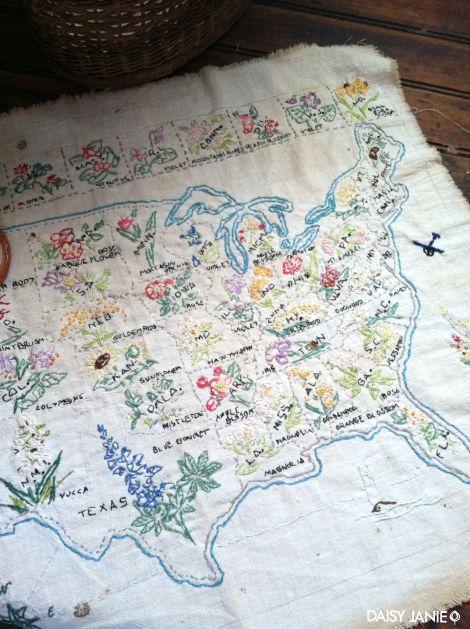 Antique USA quilt. <3