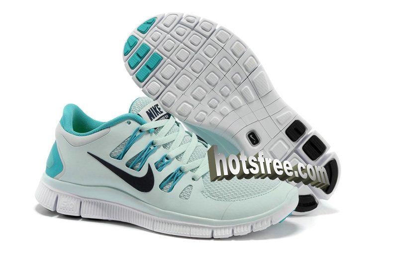 Save Up To 61% Womens Nike Free 5.0 Fiberglass Sport Turquoise Blackened Blue White Shoes