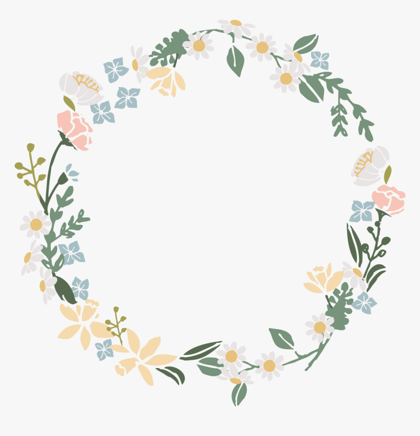 Transparent Background Watercolor Floral Wreath Hd Png Download Is Free Transparent Floral Wreath Watercolor Floral Wreaths Illustration Floral Wreath Drawing