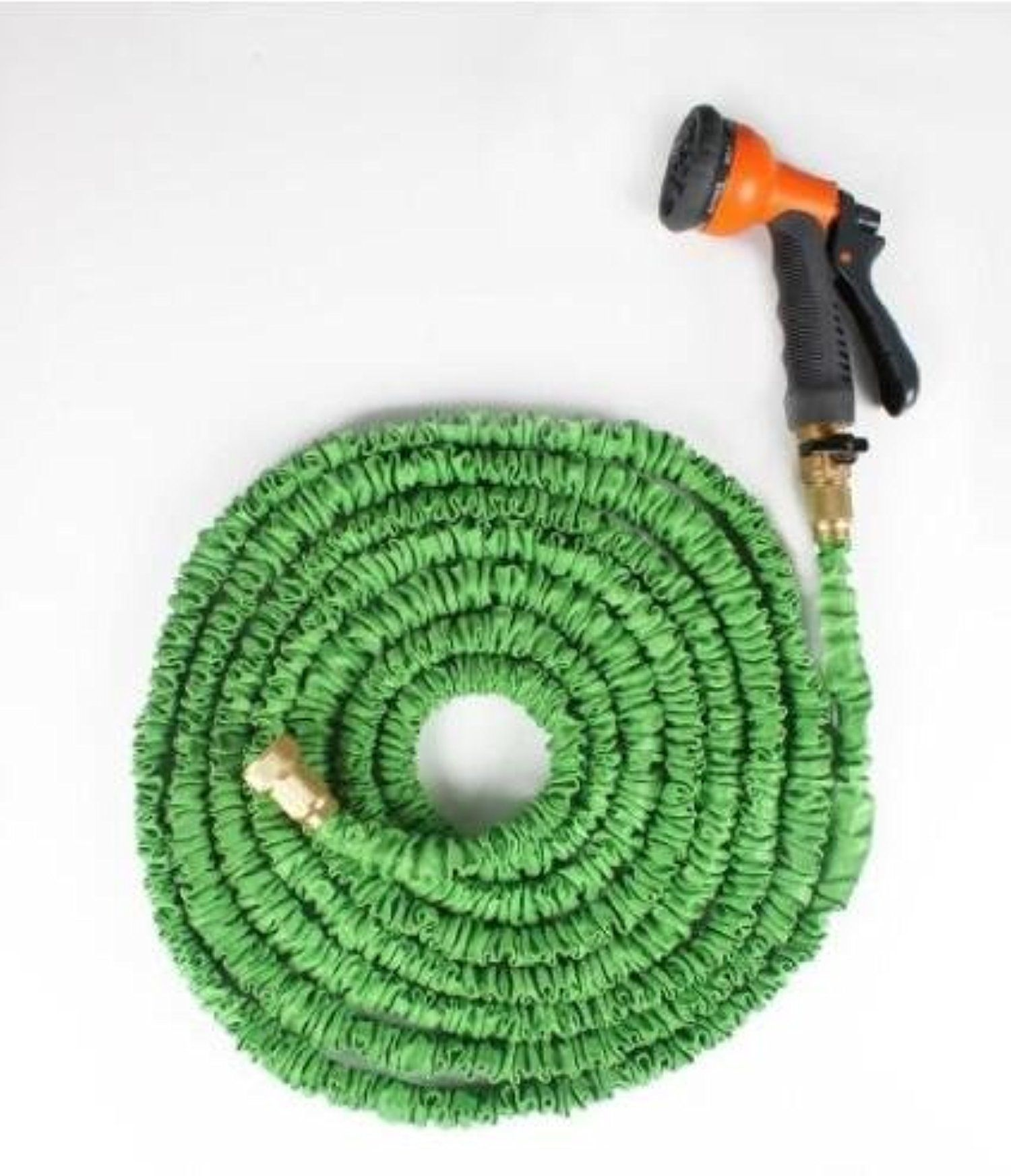 Speedcontrol 25 Feet Flexible Collapsible Garden Hose Water Hose With Brass Connector And Spray Nozzle Awesome Products Selected Garden Hose Hose Water Hose