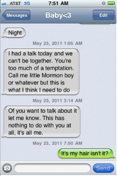 READ AND LAUGH! Best Breakup Texts