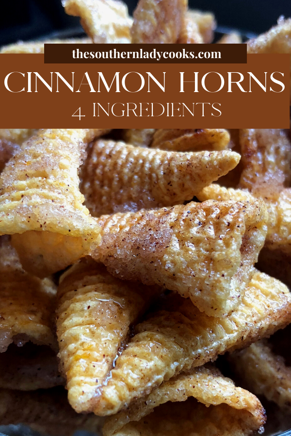 Cinnamon Bugles - 4 Ingredients - The Southern Lad