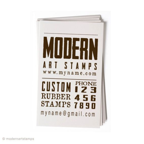 Custom business card stamp custom rubber stamp personalized custom business card stamp custom rubber stamp personalized stamp custom stamp vintage reheart Images