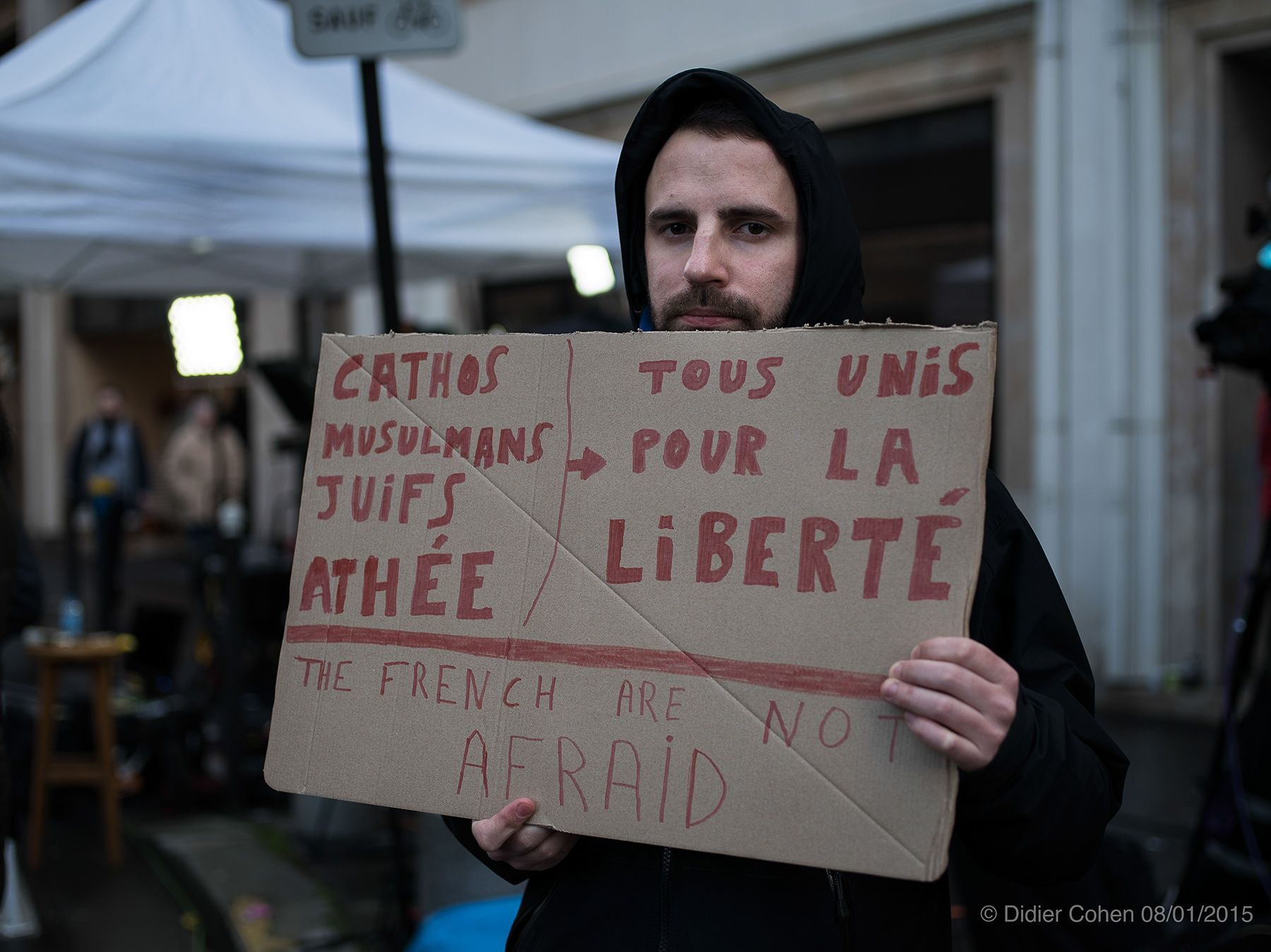 Day after... #JeSuisCharlie by Didier Cohen on 500px