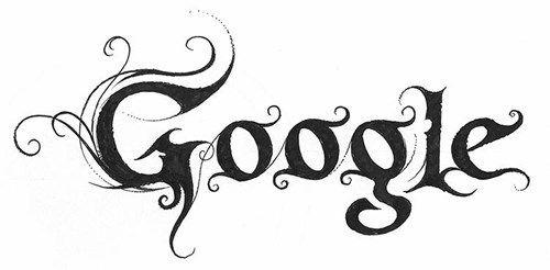What Famous Companies Would Look Like With Black Metal Logos Metal Typography Google Logo Black Metal