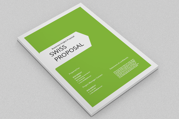 Proposal Cover Page Marketing Ideas Cover Design Design Proposal