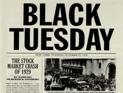 stock market crash 1929 facts
