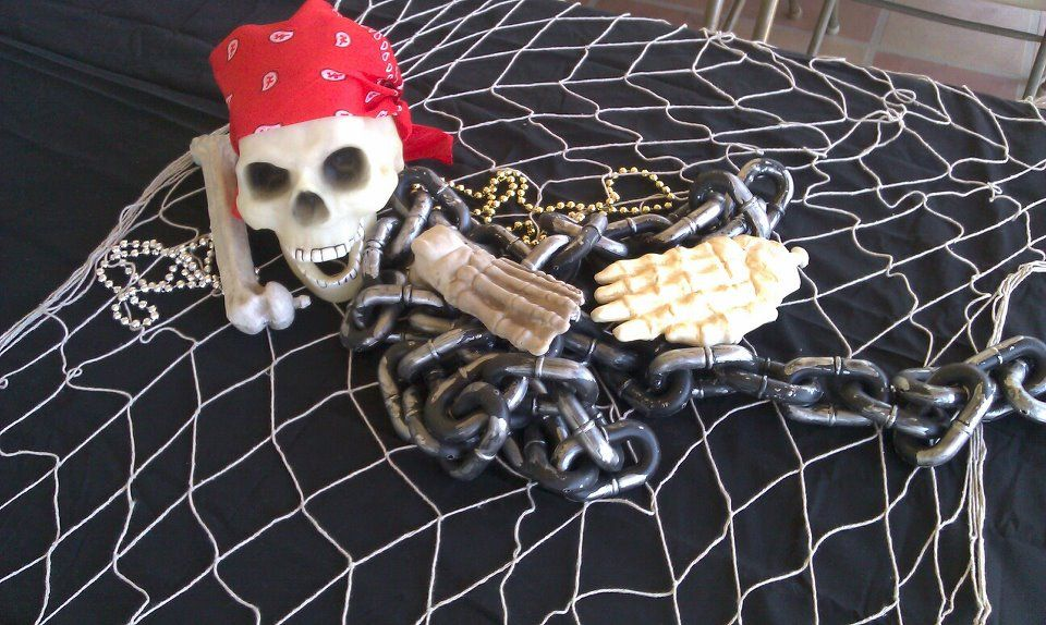 Inspirational Pirate Table Decorations