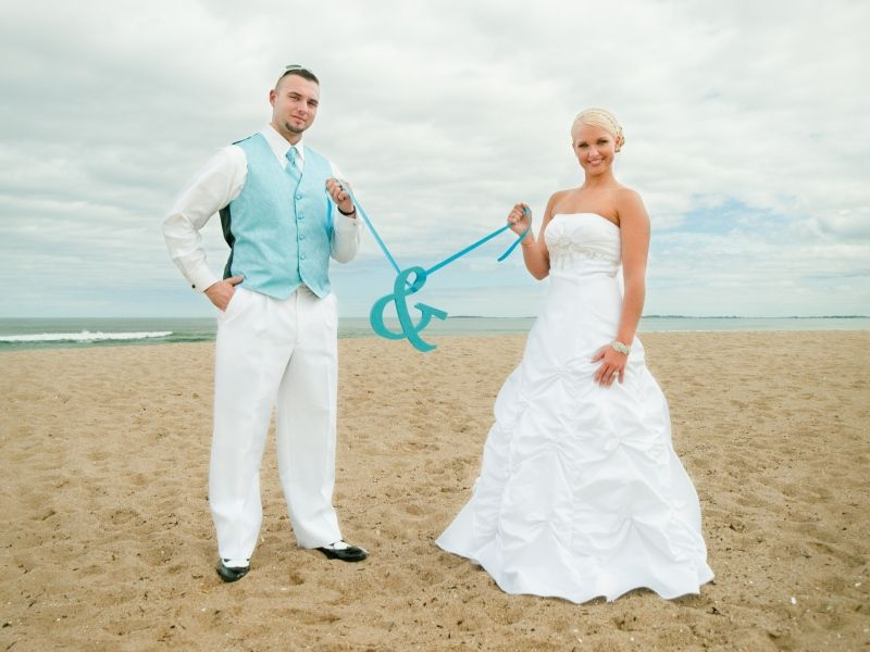 Maine Wedding Photography Unique Creative Modern Lad Beach Old
