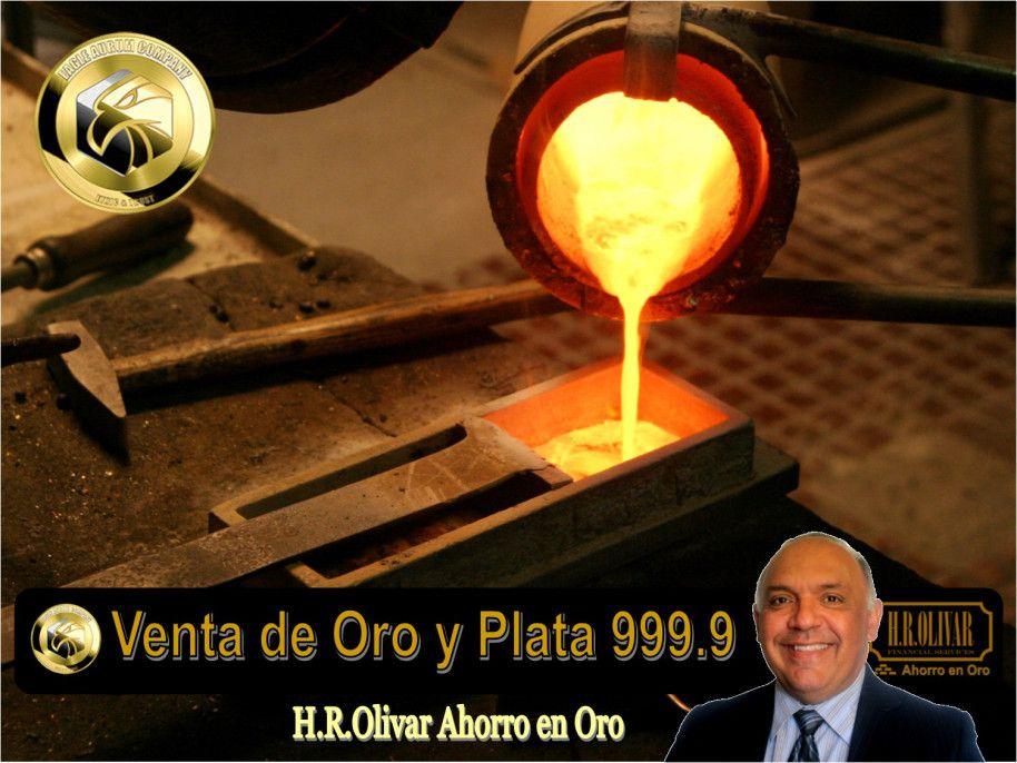 H.R.Olivar Ahorro en Oro y Plata de 999.9