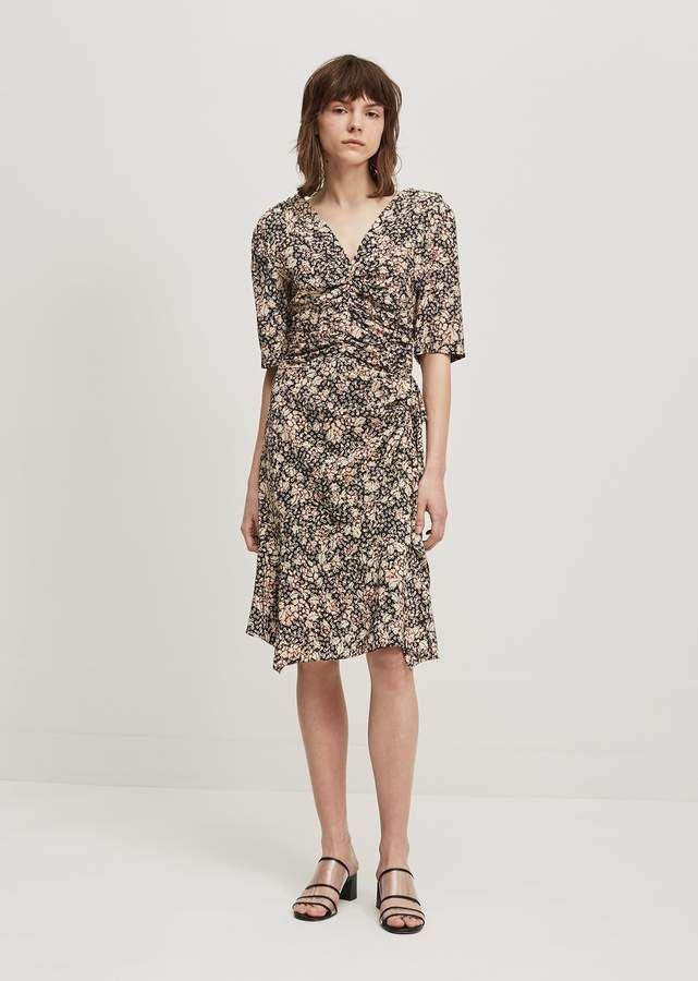 Black Silk Brodie Dress Isabel Marant lLYiCe