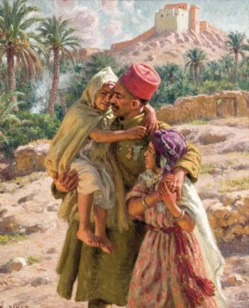 Étienne Dinet, peintre français, orientaliste et musulman ...