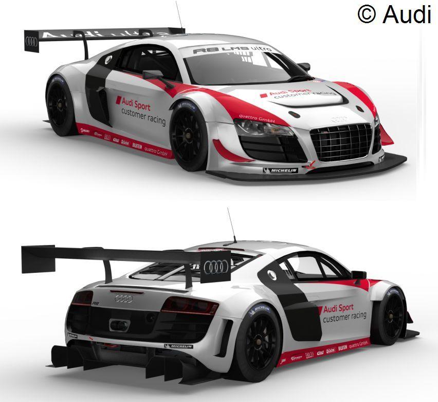 2013 R8 LMS ultra from Audi Sport customer racing
