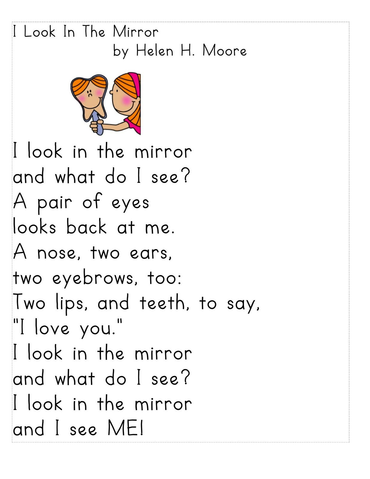 Worksheet Short Stories For 1st Grade 17 best images about all me theme on pinterest emergent readers and self portraits