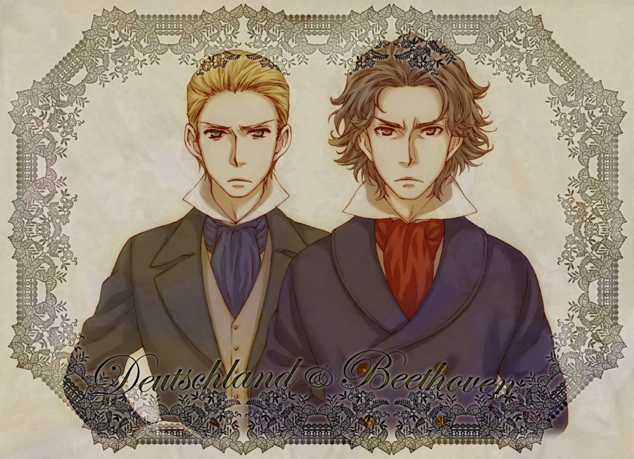 Hetalia Characters With Classical Composers Ludwig And