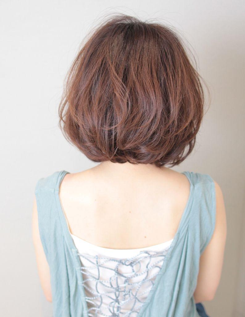 大人かわいいボブパーマ(SG-332) | ヘアカタログ・髪型・ヘアスタイル|AFLOAT(アフロート)表参道・銀座・名古屋の美容室・美容院