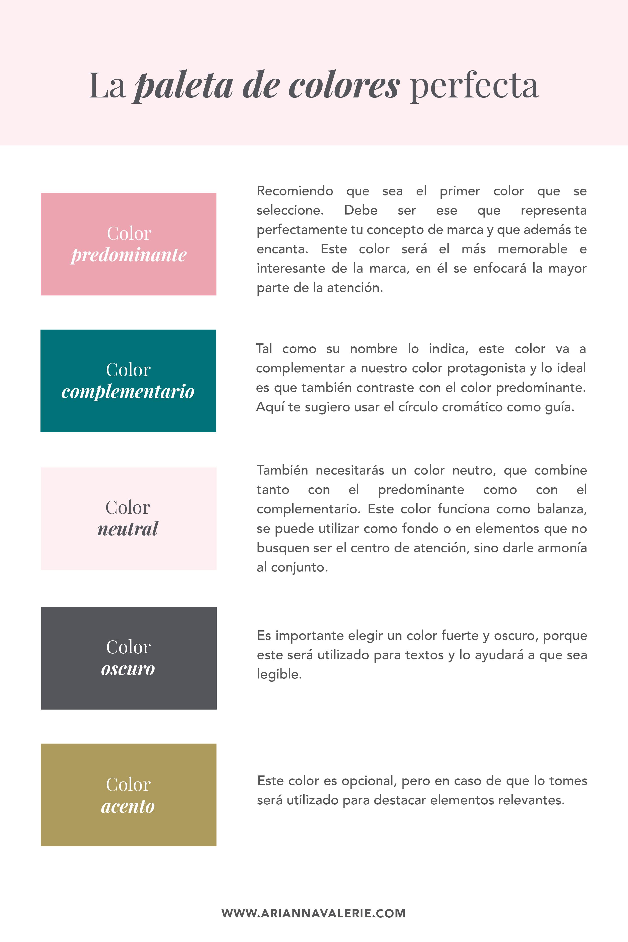 Cómo Elegir Una Paleta De Colores Para Tu Marca Paleta De Colores Diseño De Identidad De Marca Paletas De Colores