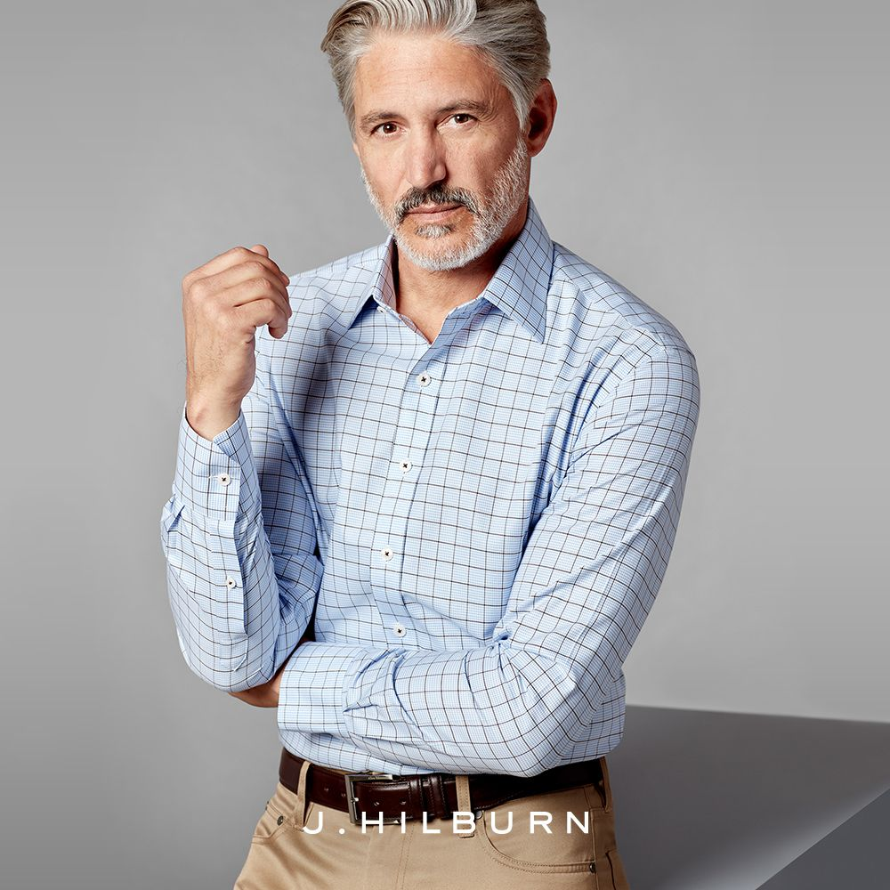 Custommade business casual. A J.Hilburn specialty