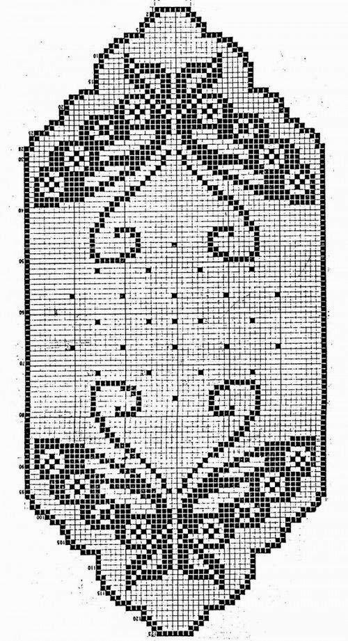 Szydełkomania: Serwety   carpetas al crochet   Pinterest   Tejido ...