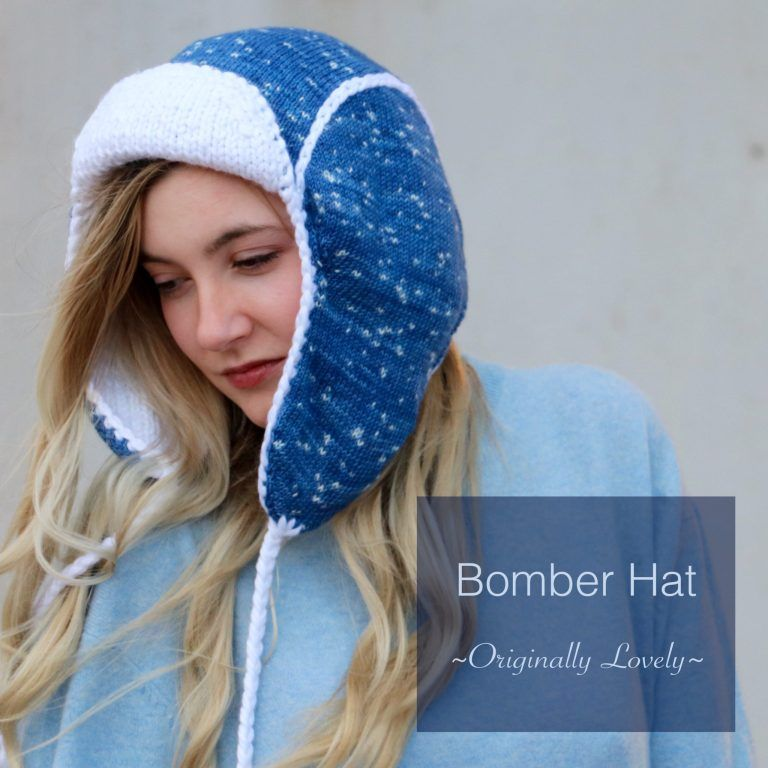 Bomber Hat Knitting Pattern | Hat knitting patterns ...