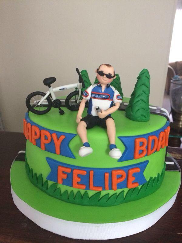 Cake Bike Bike Cakes Bicycle Cake 60th Birthday Cake