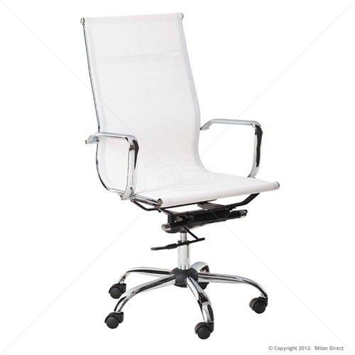 designer mesh executive office chair high back black high back