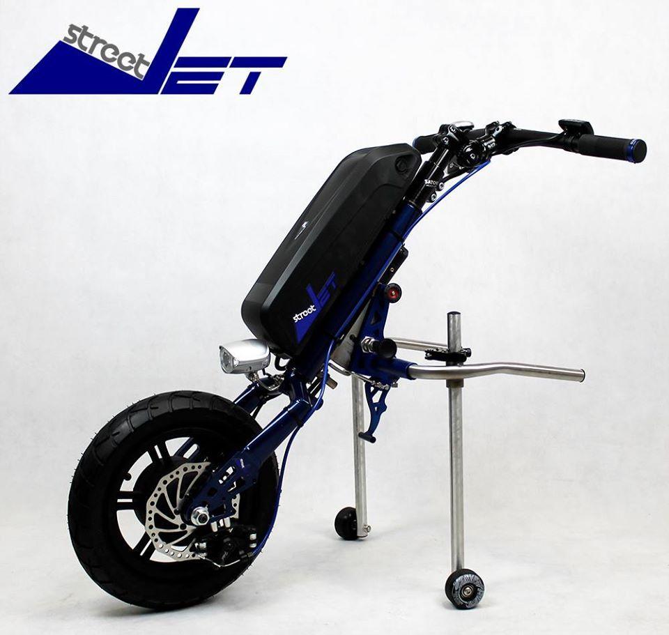 Street Jet (Elektrische aankoppelfiets, Electric attachable bicycle ...