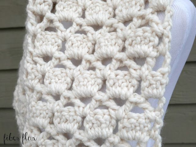 Free Crochet Pattern...Sugar Cookie Scarf! (Fiber Flux...Adventures ...