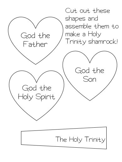 adventures in teaching first grade catechism free holy trinity worksheet ccd and rcic. Black Bedroom Furniture Sets. Home Design Ideas