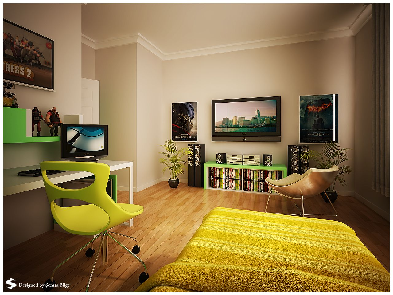 tween+bedroom+designs | Room Designs, Teen Bedroom Design TV Sofa Rug: