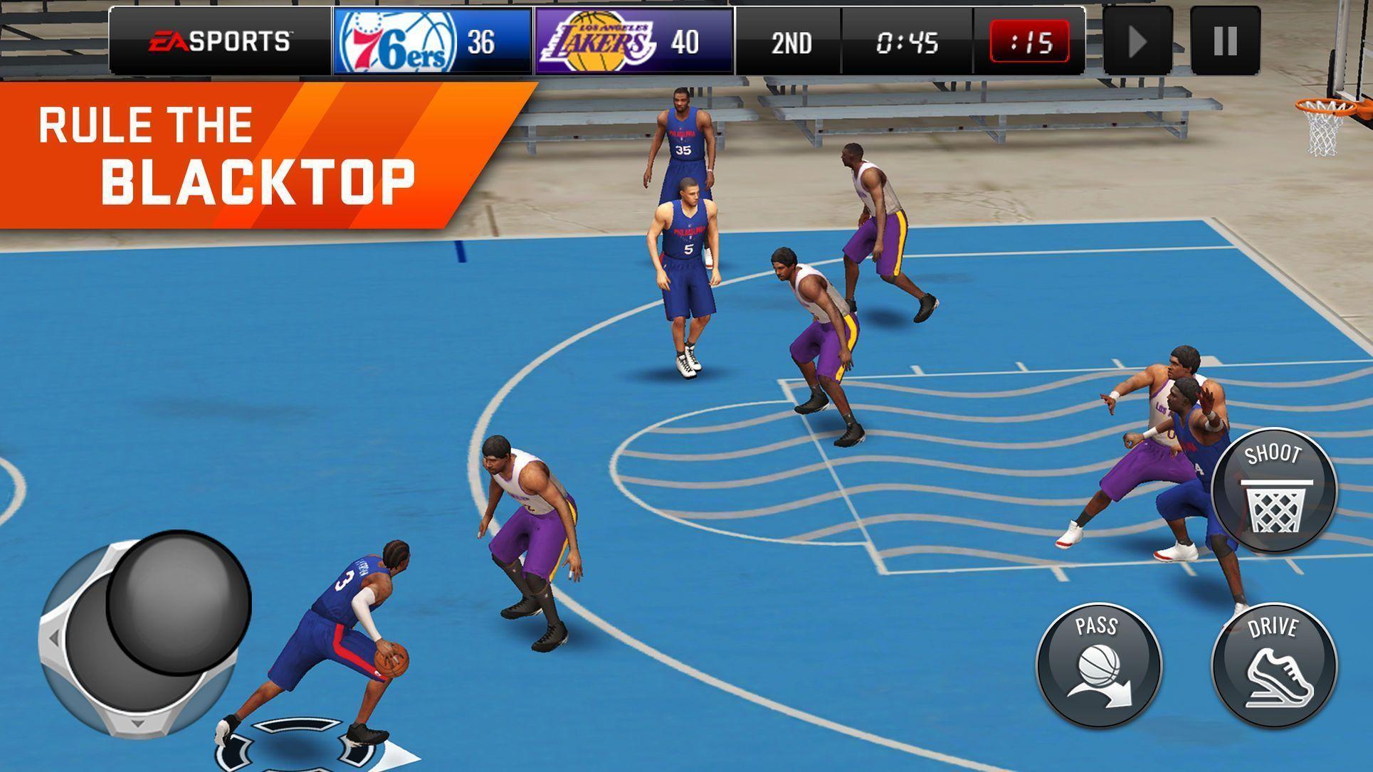 Nba Live Mobile Basketball Games Arts Sports Ios Basketballgamesonline Basketballonline Basketball Games Online Basketball Moves Basketball