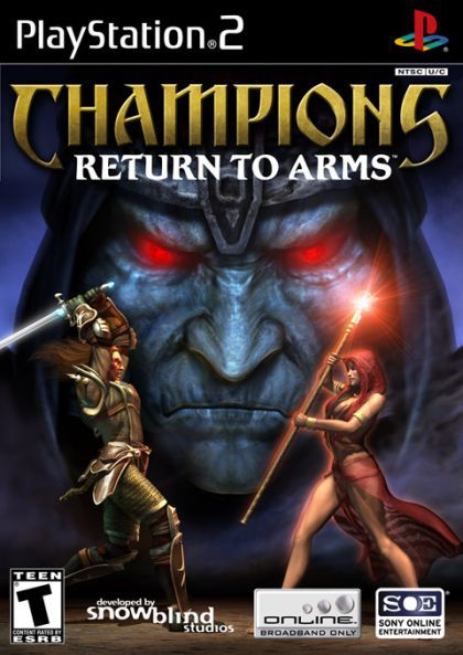 Champions Return To Arms Playstation 2