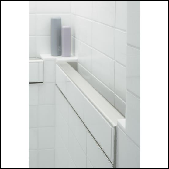 Belay In Tile Handrail By Kohler Provides The Safety And Security Of A Shower Grab Bar Without