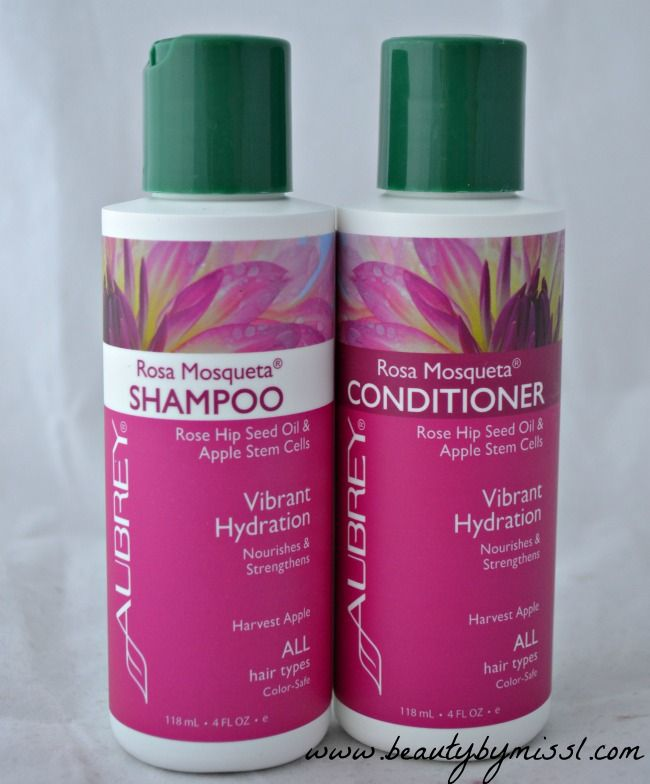 Aubrey Organics Rosa Mosqueta Shampoo Conditioner Beauty Product