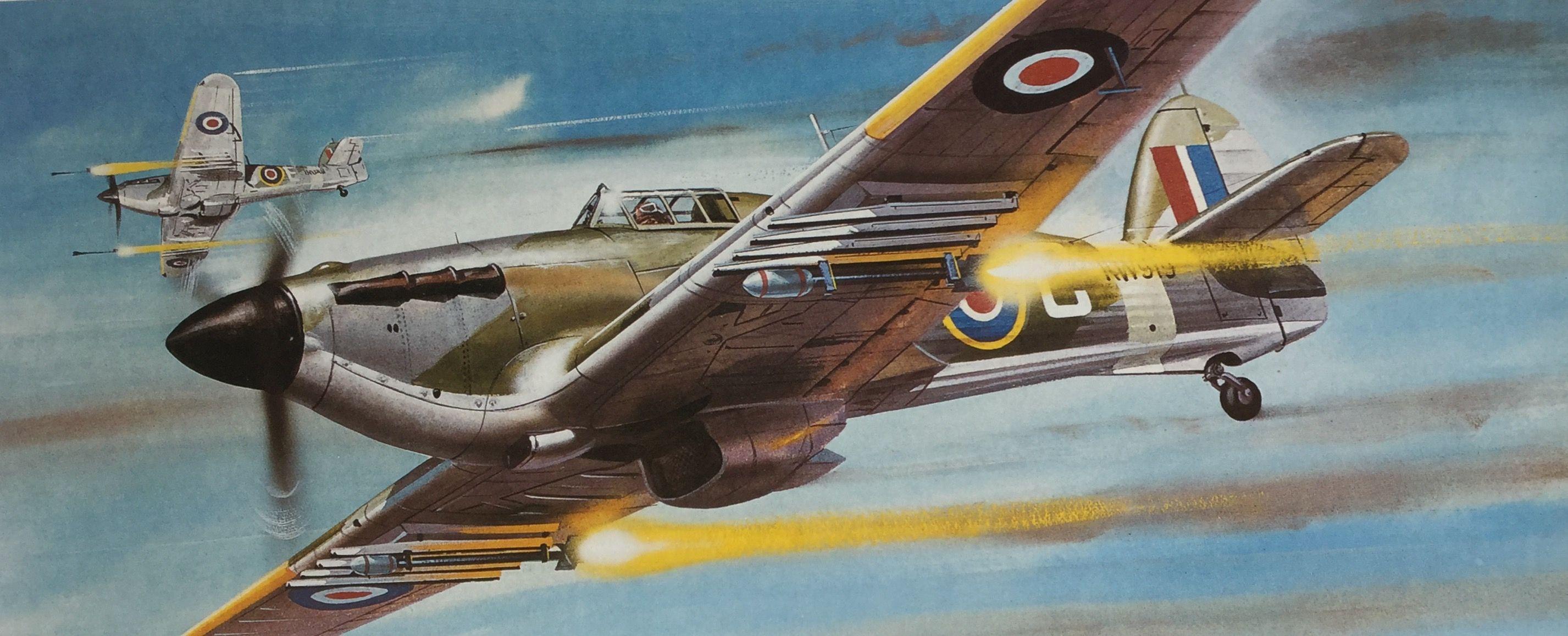 Roy Cross Hurricane Iv Airplane Art Aviation Art Military Art