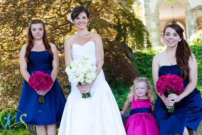 Blue And Fuschia Wedding | Wedding Ideas