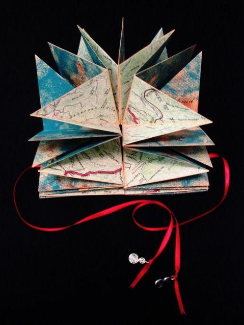 Handmade Books Artists | Sharp Handmade Books - Portfolio of Artist's Books - The Ups & Downs ...