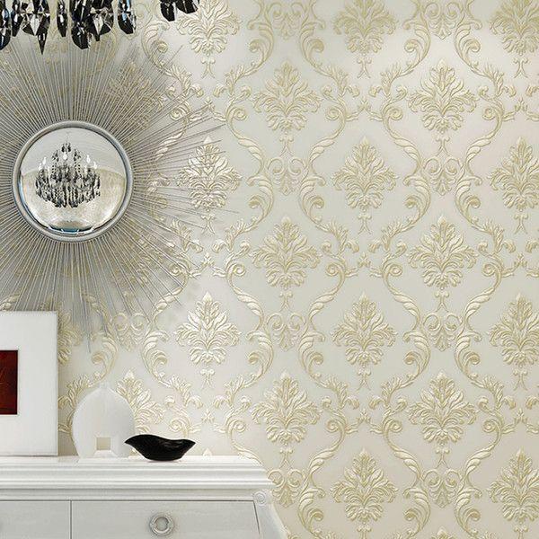 Best Luxury Modern 4D Bedroom Wallpaper 3D Home Decoration 400 x 300