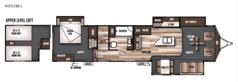 Image result for rv\'s with loft floor plans | Off to See the World ...