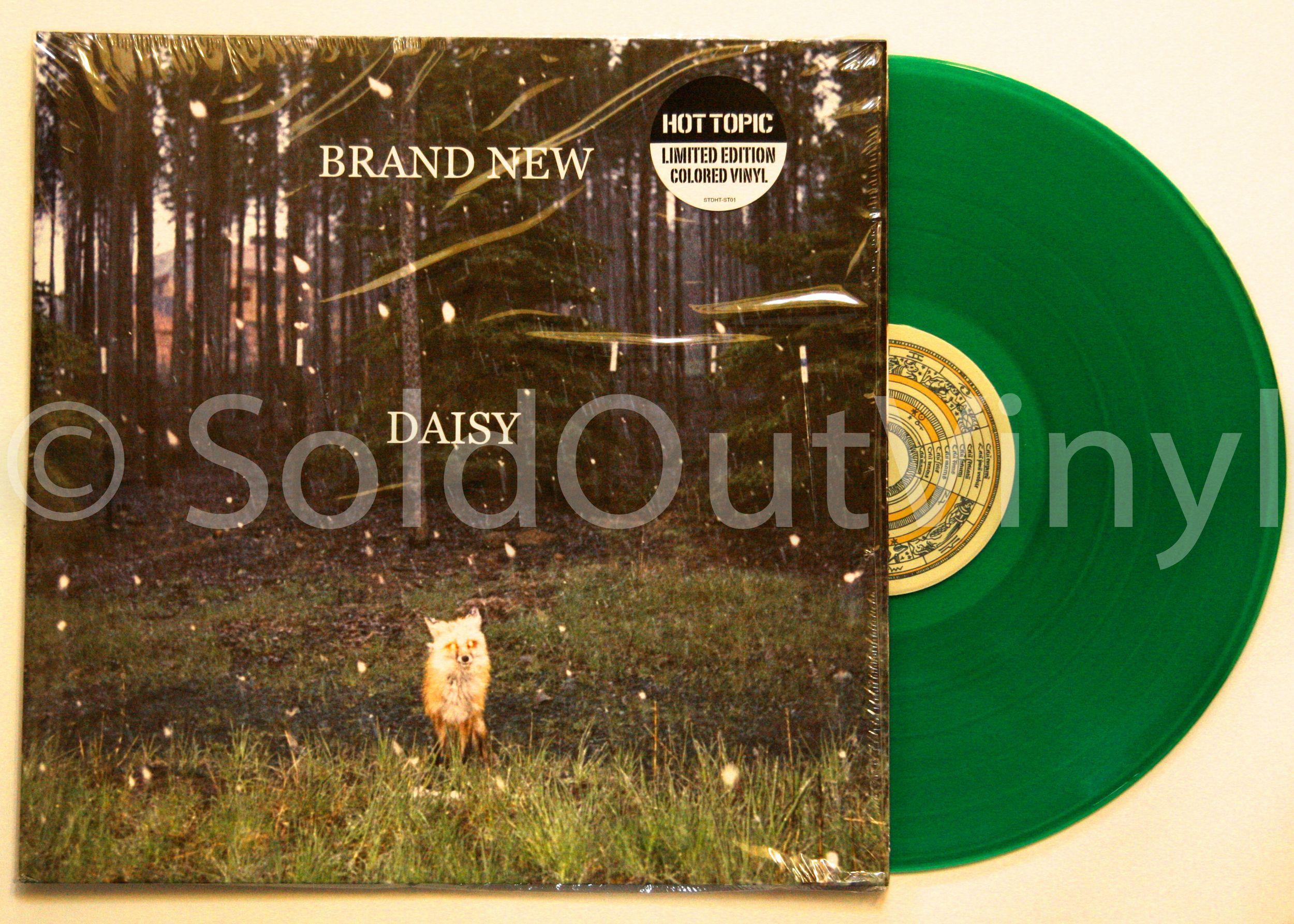brand new daisy vinyl green lp brand new vinyls and daisies