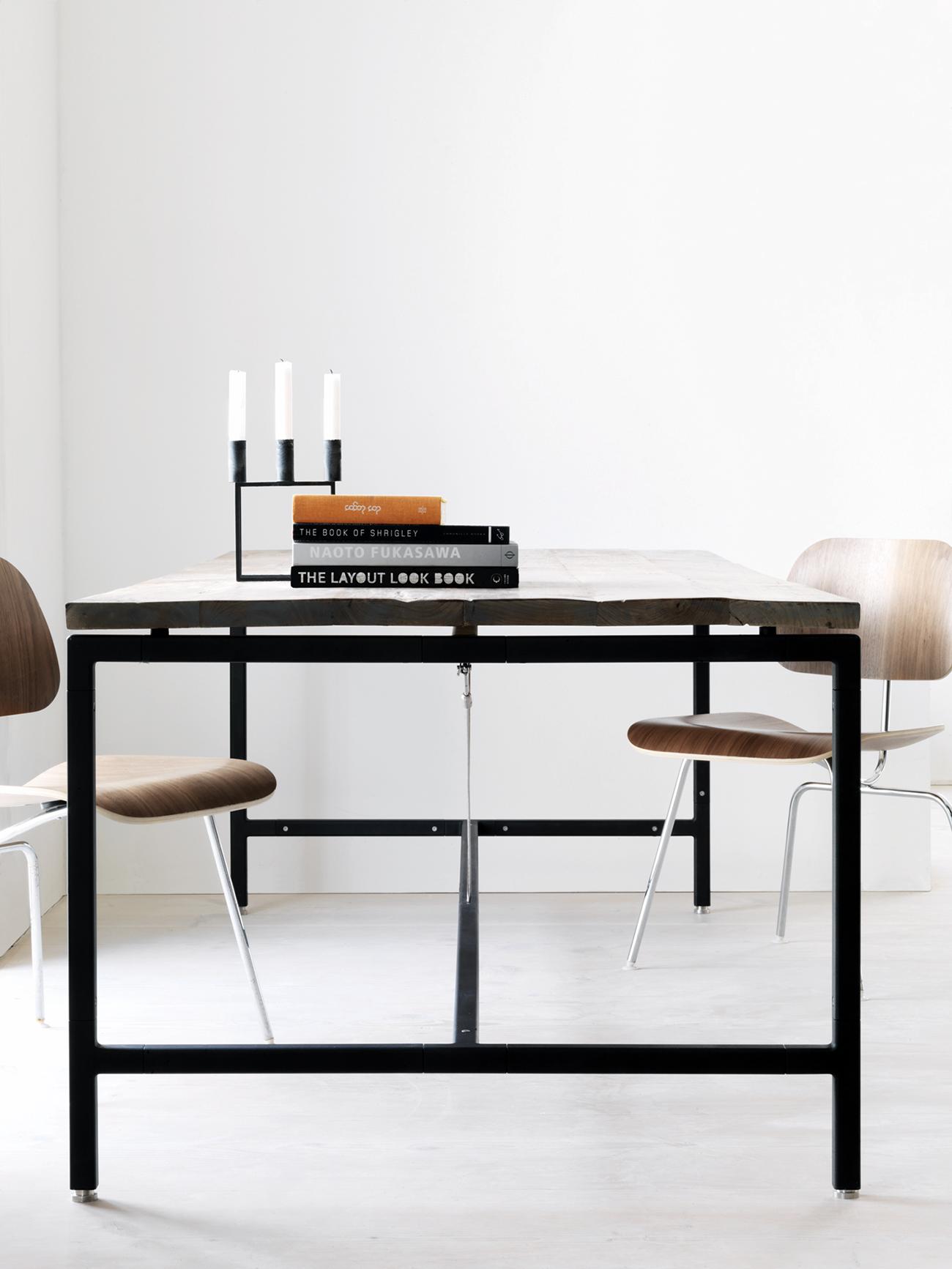 Vipp table tafel frame poedercoat mat zwart