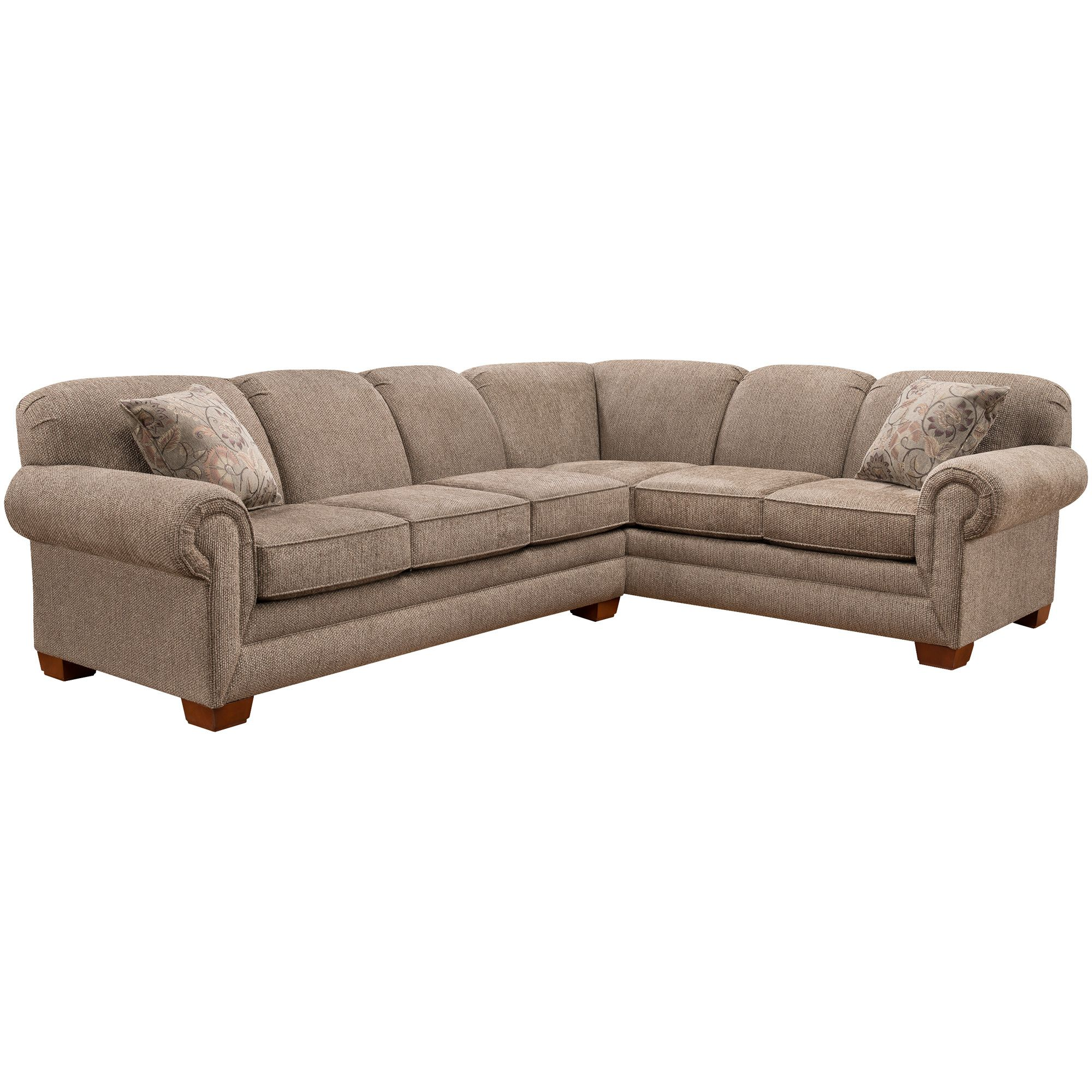 Tenor 2 Piece Brown Large Sectional   Large sectional, Sofa ...