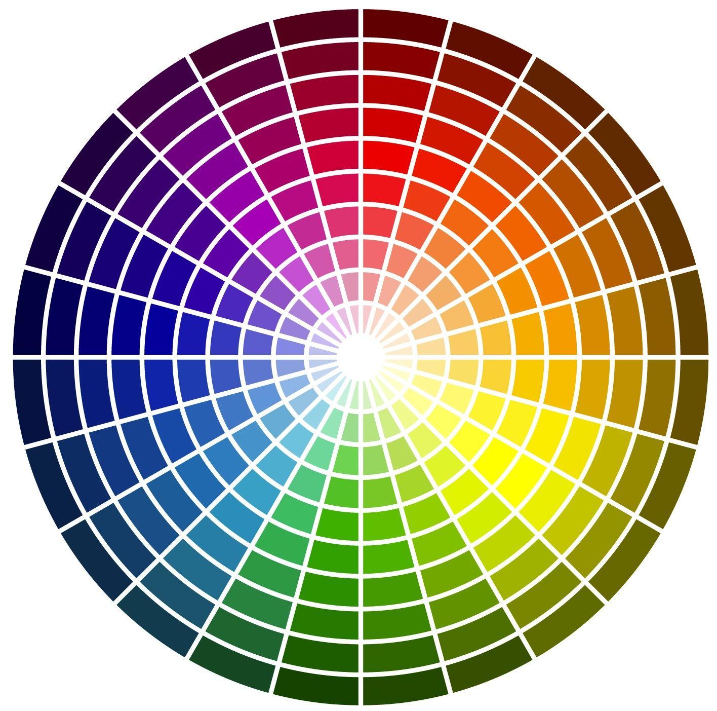 Easy ArtSpace Colours … Color wheels Makeup color