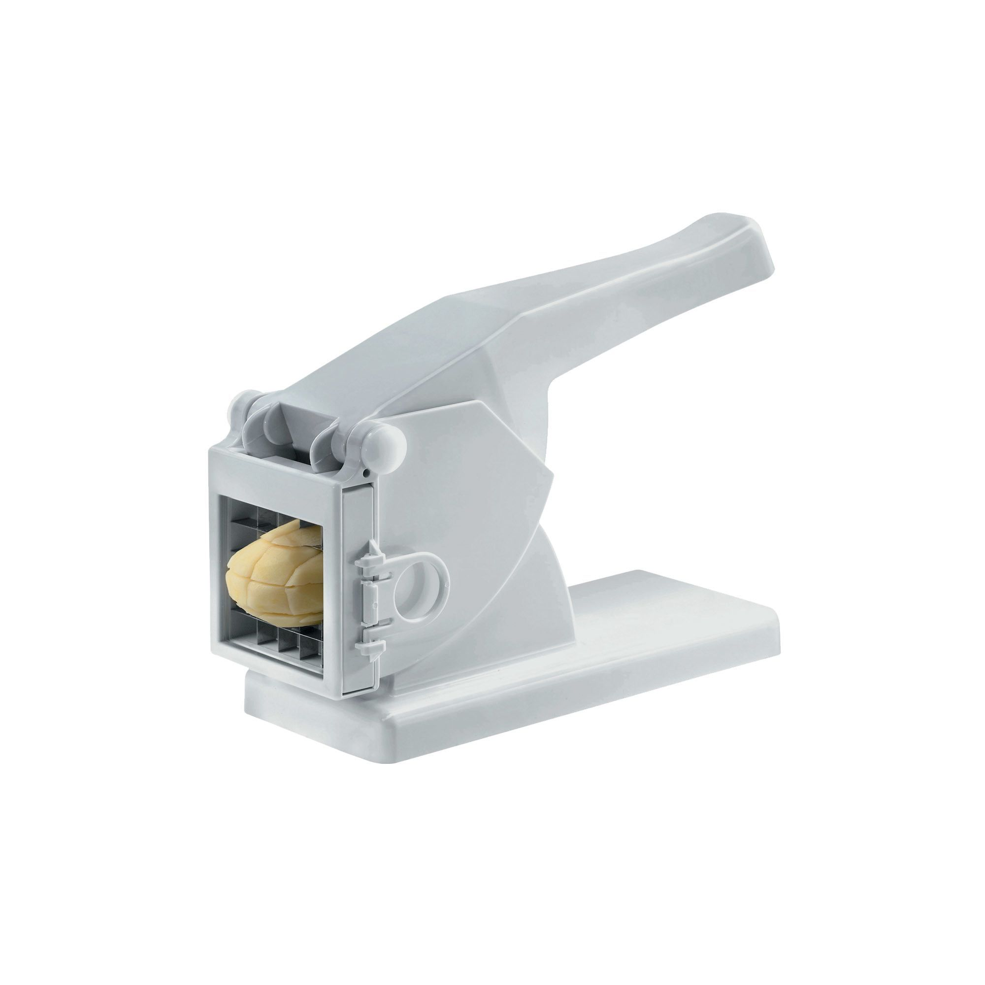 Compact Hand-Held Potato Slicer and French Fry Cutter | Home ...