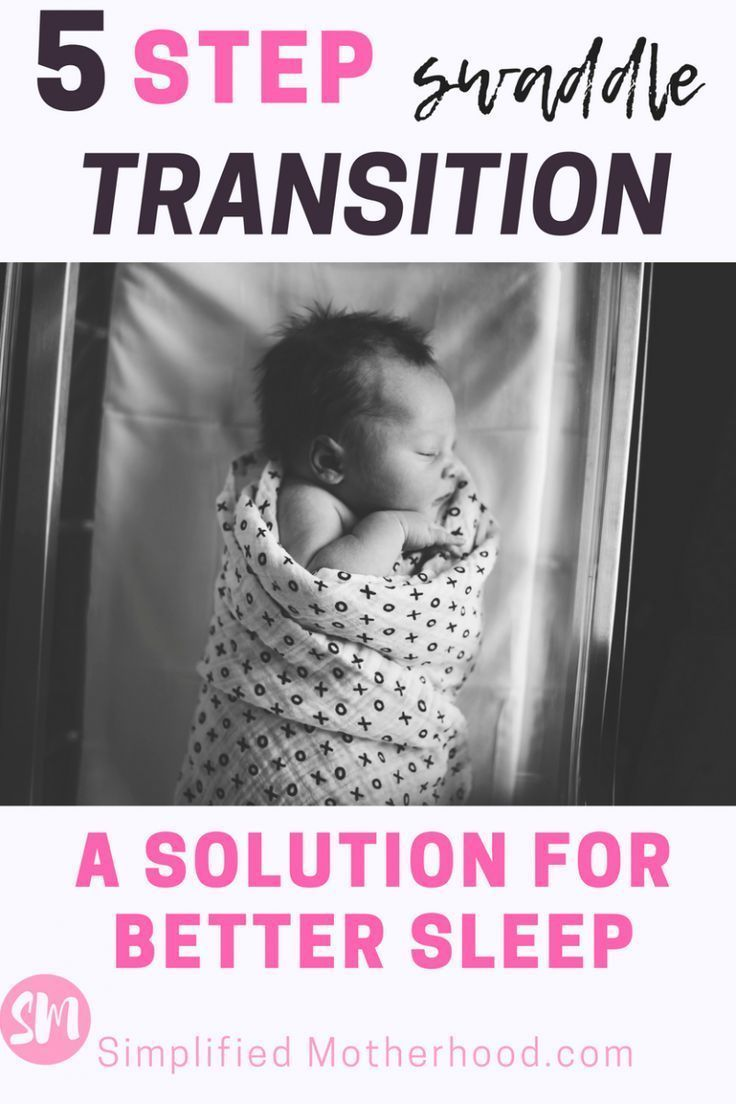 how to transition baby out of swaddle up