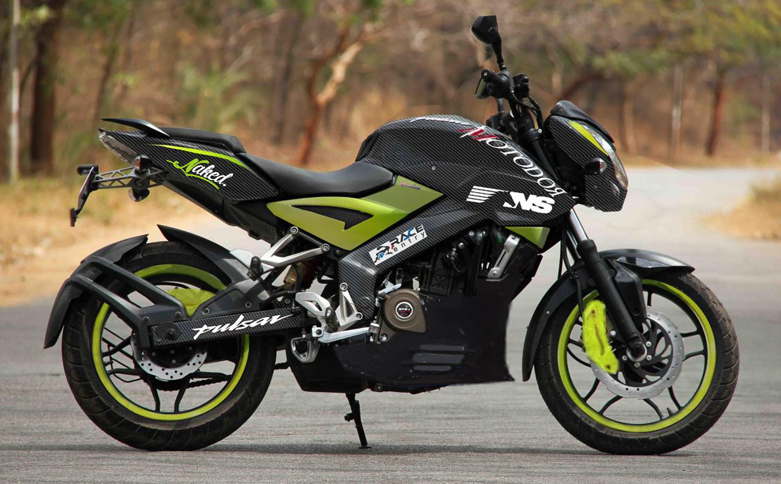 Modified Bajaj Pulsar 200NS from Indonesia is worth every