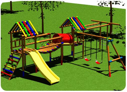 juegos infantiles de madera para jardin - Buscar con Google ...