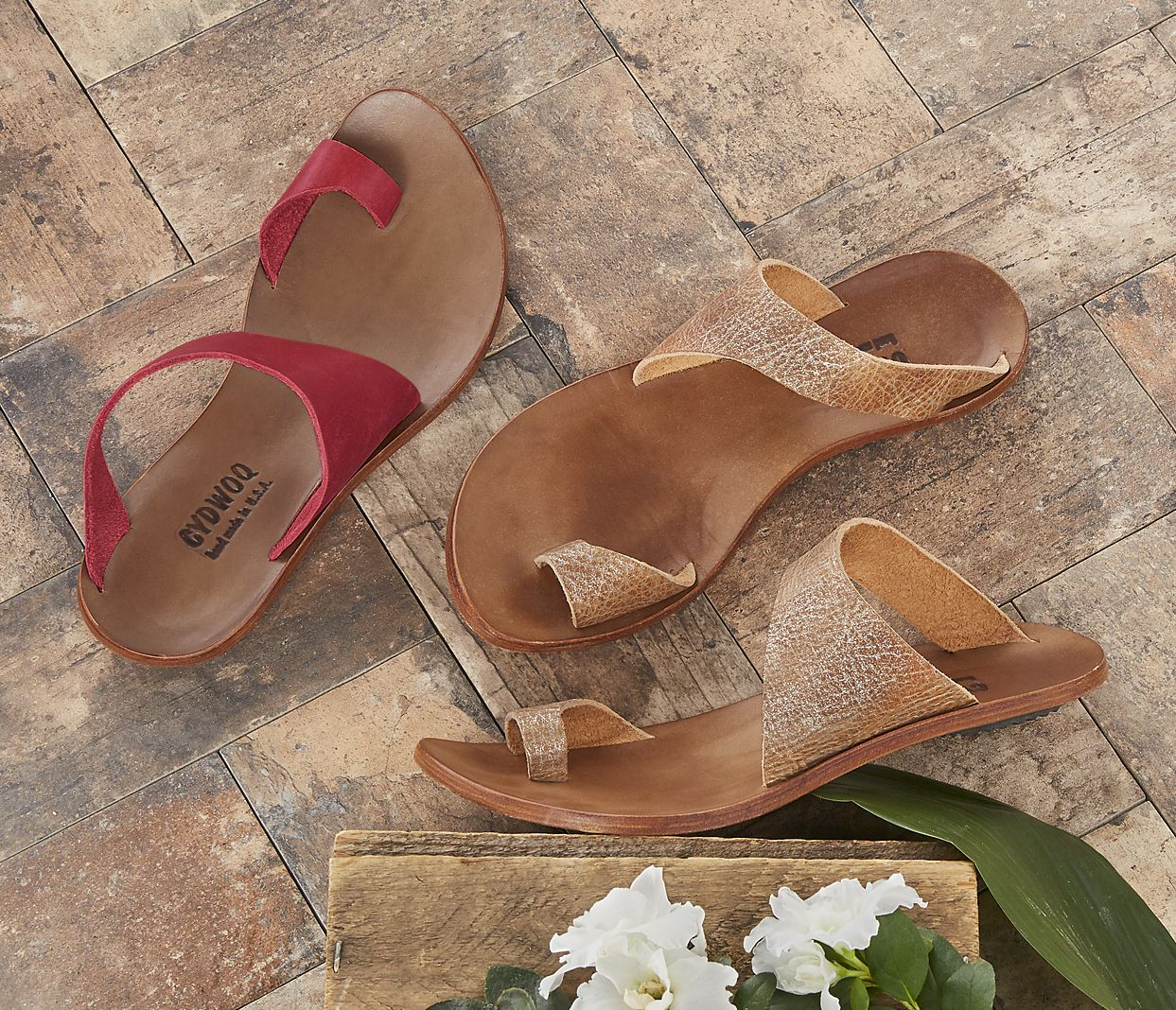 9d555a4fd30f Hillary Sandals - CYDWOQ sandals with curved