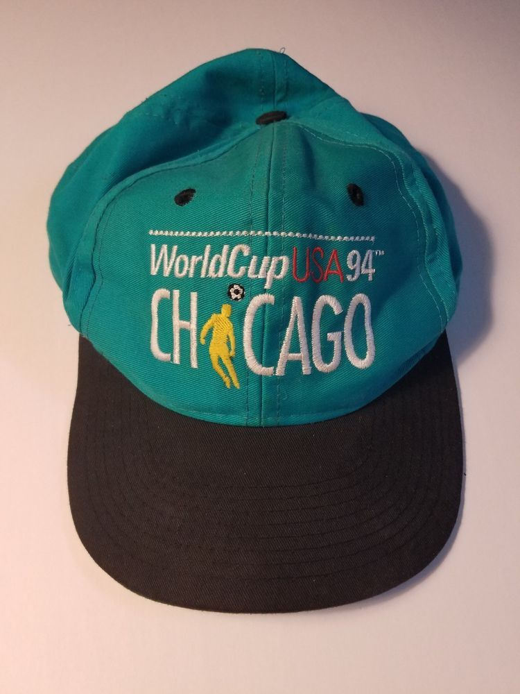 216cea9ffd4 FIFA World Cup 1994 USA Chicago Soccer Football McDonald s Snapback Cap Hat   fashion  clothing